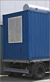 Энергообеспечение дата-центра IBS DataFort: дизель-генератор