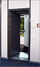 Дата-центр IBS DataFort имеет отдельный вход, организованный по шлюзовой системе