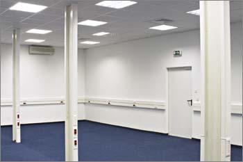 Для обеспечения непрерывности бизнеса клиентов DATA FORT рядом с техническим модулем построен резервный офис