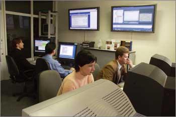 Центр управления на Дмитровском шоссе обеспечивает удаленное администрирование клиентских и собственных систем дата-центра IBS DataFort
