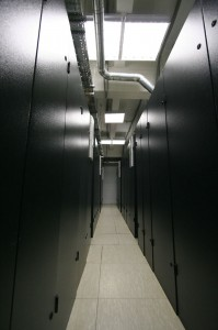 Шкафы в дата-центре «Траст-Инфо»