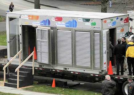 Контейнерный дата-центр IT PAC можно перевозить и устанавливать в любом городе.