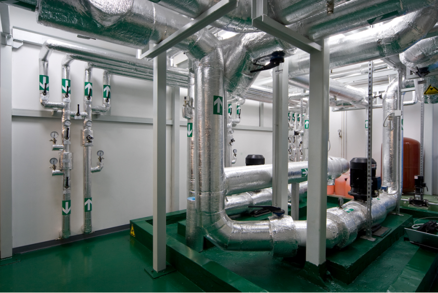 Насосная станция системы охлаждения ЦОД LinxTelecom