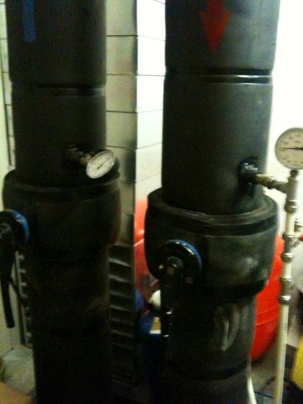 Трубы холодоснабжения ЦОД SafeData