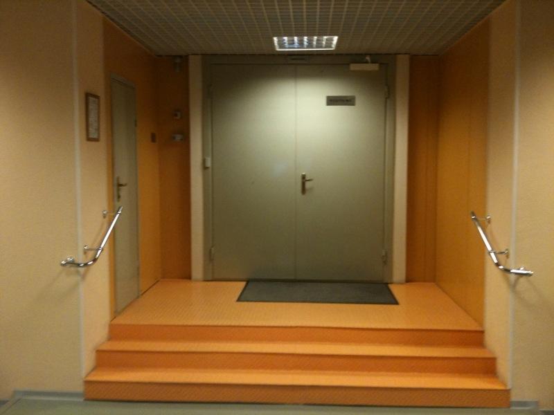 Вход в модуль №2 ЦОД SafeData