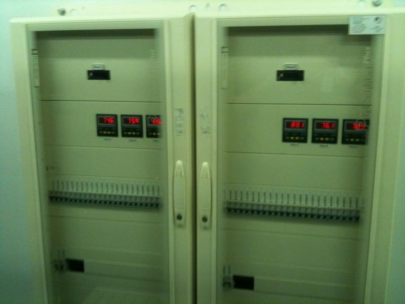 Щиты оконечного распределения электроснабжения стоек ЦОД SafeData
