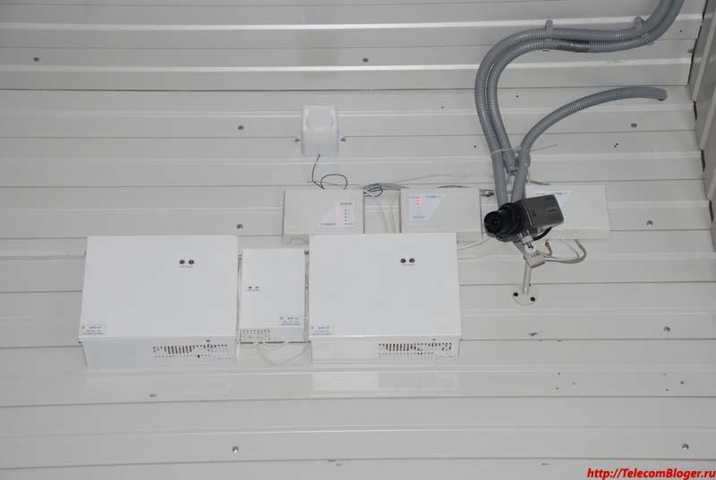 Система видеонаблюдения и контроля доступа ЦОД Фортис