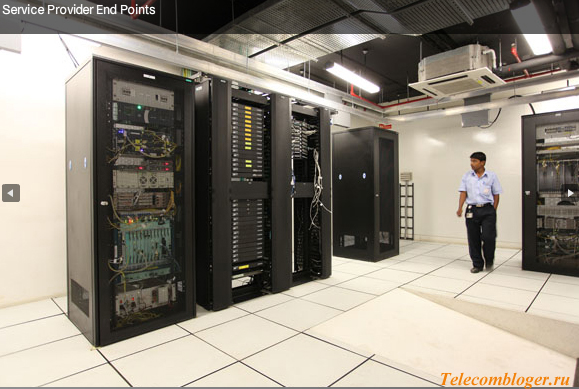 Telco room или перчаточная ЦОД bangalore