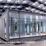 Сборка модуля Дата-Центре Merlin Modular Data Center