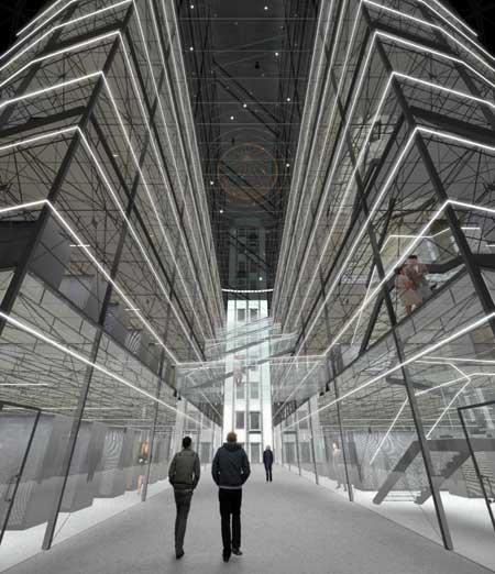 Первый этаж нового ЦОД. Фото: Bahnhof