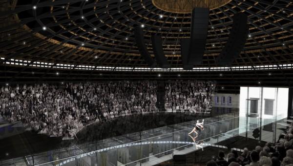 театр на крыше дата-центра