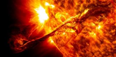 Опасность солнечных вспышек