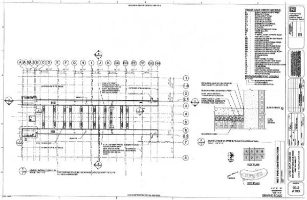 поэтажный план мега-дата-центра АНБ