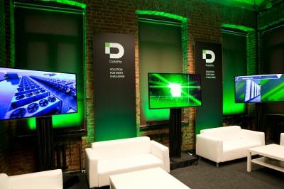 Стенд компании datapro на конференции ЦОД-2013