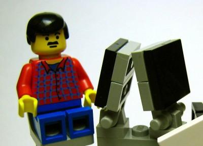 центр обработки данных из Lego и Raspberry Pi