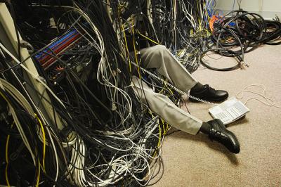 простой центра обработки данных