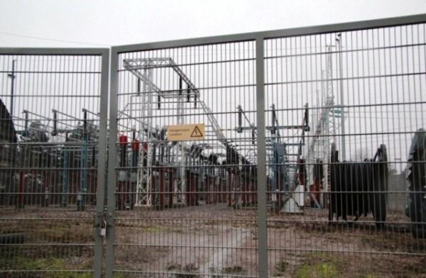 Трансформаторная подстанция недалеко от ЦОД Viikinmäki, Финляндия