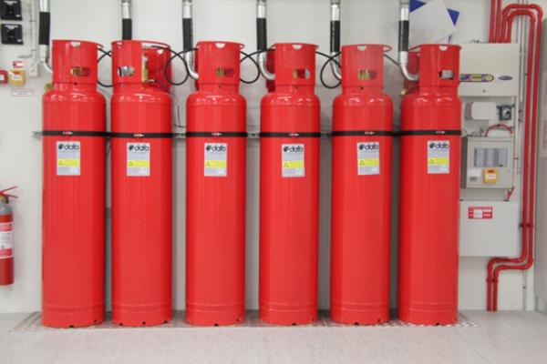 Балоны с газом Система пожаротушения