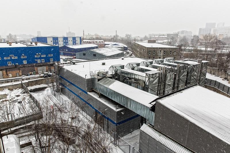 Дата-центр Электронной Москвы