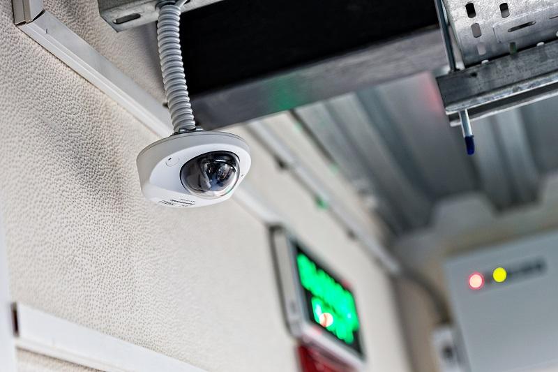 Камера видеонаблюдения в ЦОД