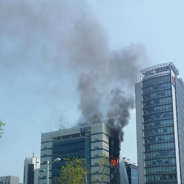 Пожар в дата-центре Samsung