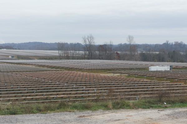 солнечная ферма рядом с ЦОД