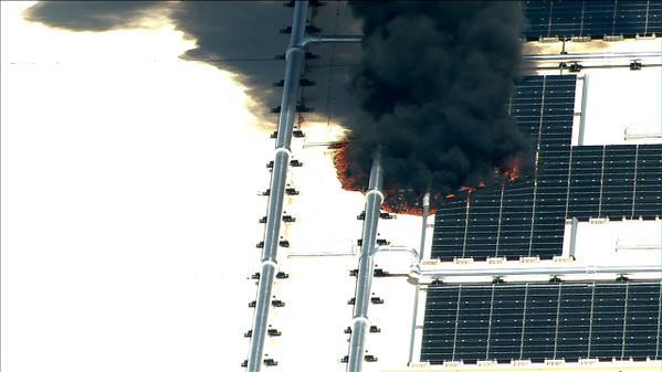 пожар в  дата-центре Apple