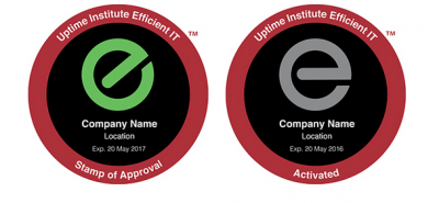 Uptime Institute Efficient IT Stamp of Approval