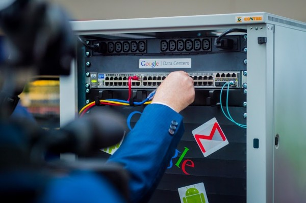 бельгийской дата-центр Google