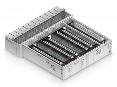 Schneider Electric представляет новый контейнерный дата-центр