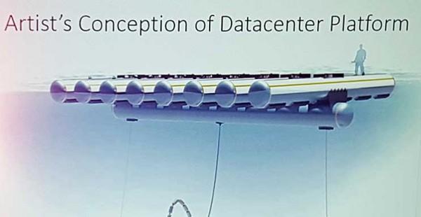 Эскиз-проект, демонстрирующий возможное воплощение следующего подводного дата-центра Microsoft