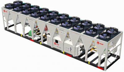 Trane предлагает чиллер с поддержкой экологичного хладагента R1234ze