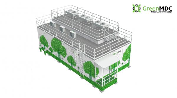 Модульный дата-центр GreenMDC