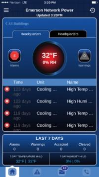 Emerson предлагает мобильное приложение для управления крошечными дата-центрами