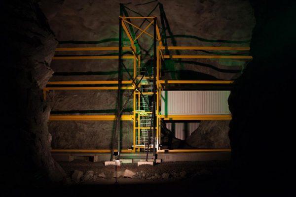 шестиэтажный ЦОД Lefdal под землей