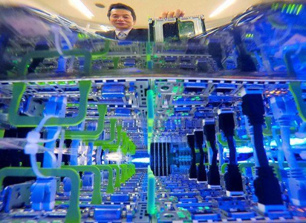 Охлаждение ЦОД Fujitsu
