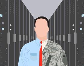 ветераны в центре обработки данных