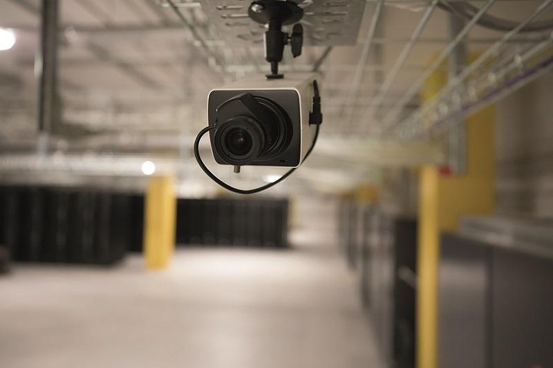 Фото 6. В каждом машинном зале имеется система охранного видеонаблюдения