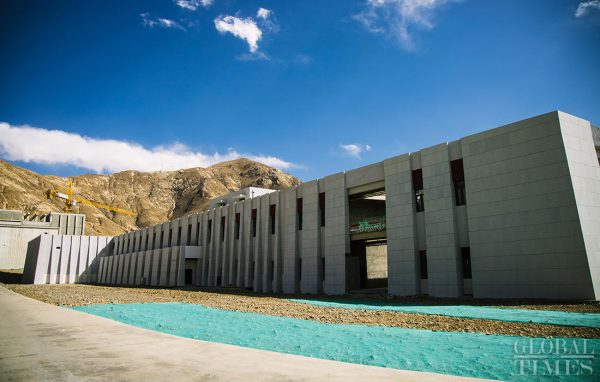 Фотоотчет о строительстве ЦОД Ningsuan Technologies в Тибете