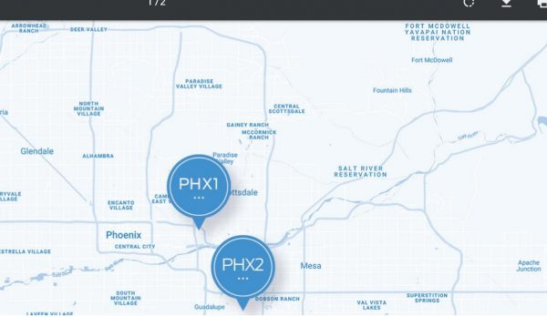 Фотоэкскурсия по дата-центру Cyxtera PHX2 в Аризоне