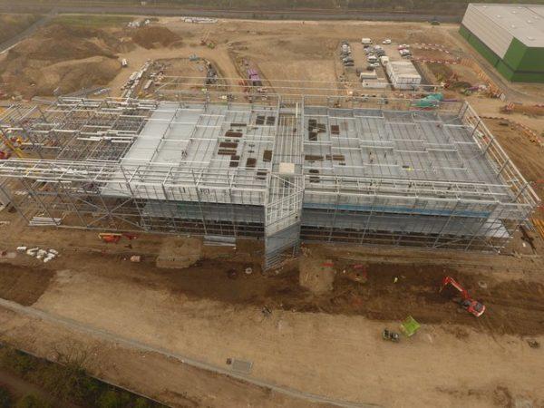 Фотоотчет: как NTT строит один из крупнейших ЦОД в Лондоне