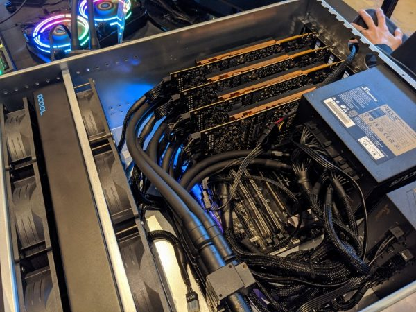 Alphacool демонстрирует систему жидкостного охлаждения серверов на CES 2020