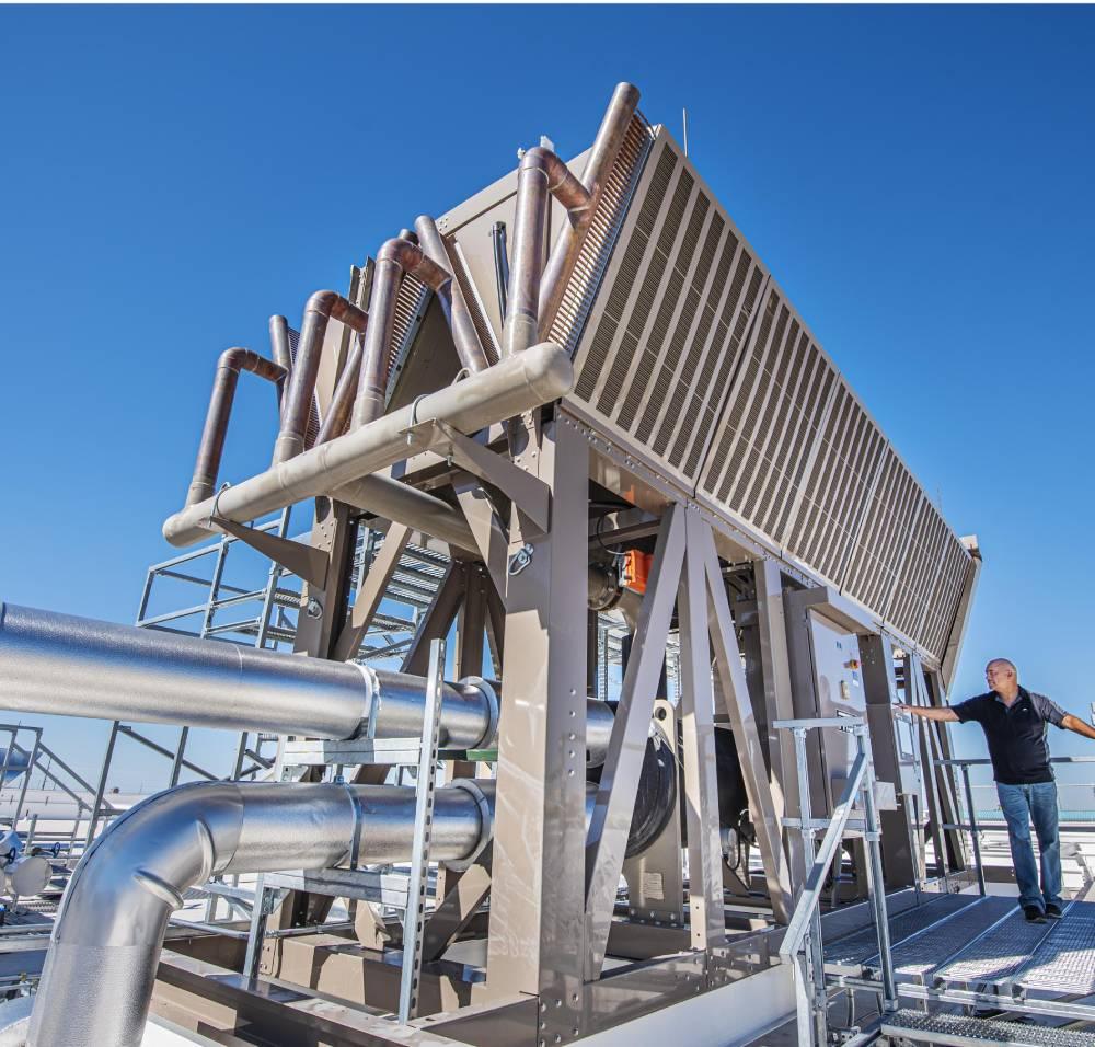 Фотоотчет: как выглядит термосифонная система охлаждения в дата-центре Sandia HPC