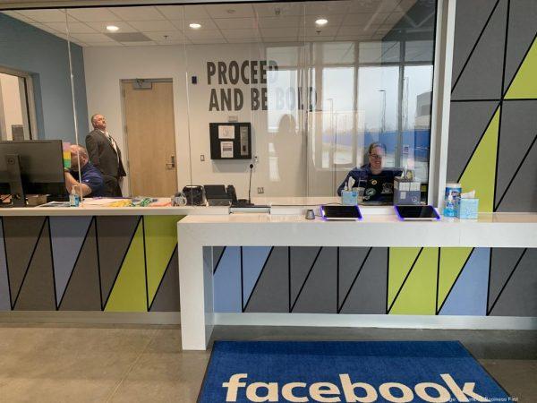 Фотоэкскурсия по 1 (из  5) зданию на кампусе ЦОД Facebook в Нью Олбани