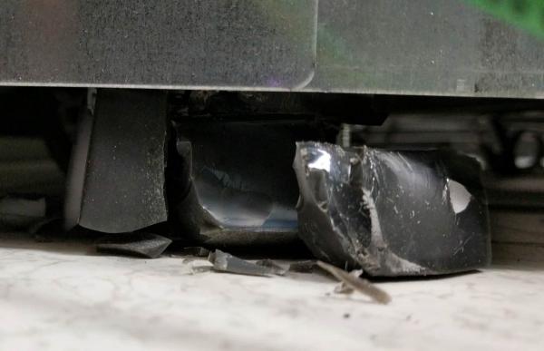 Из-за разбитых колёс серверной стойки Google оборудование внутри нее перегрелось