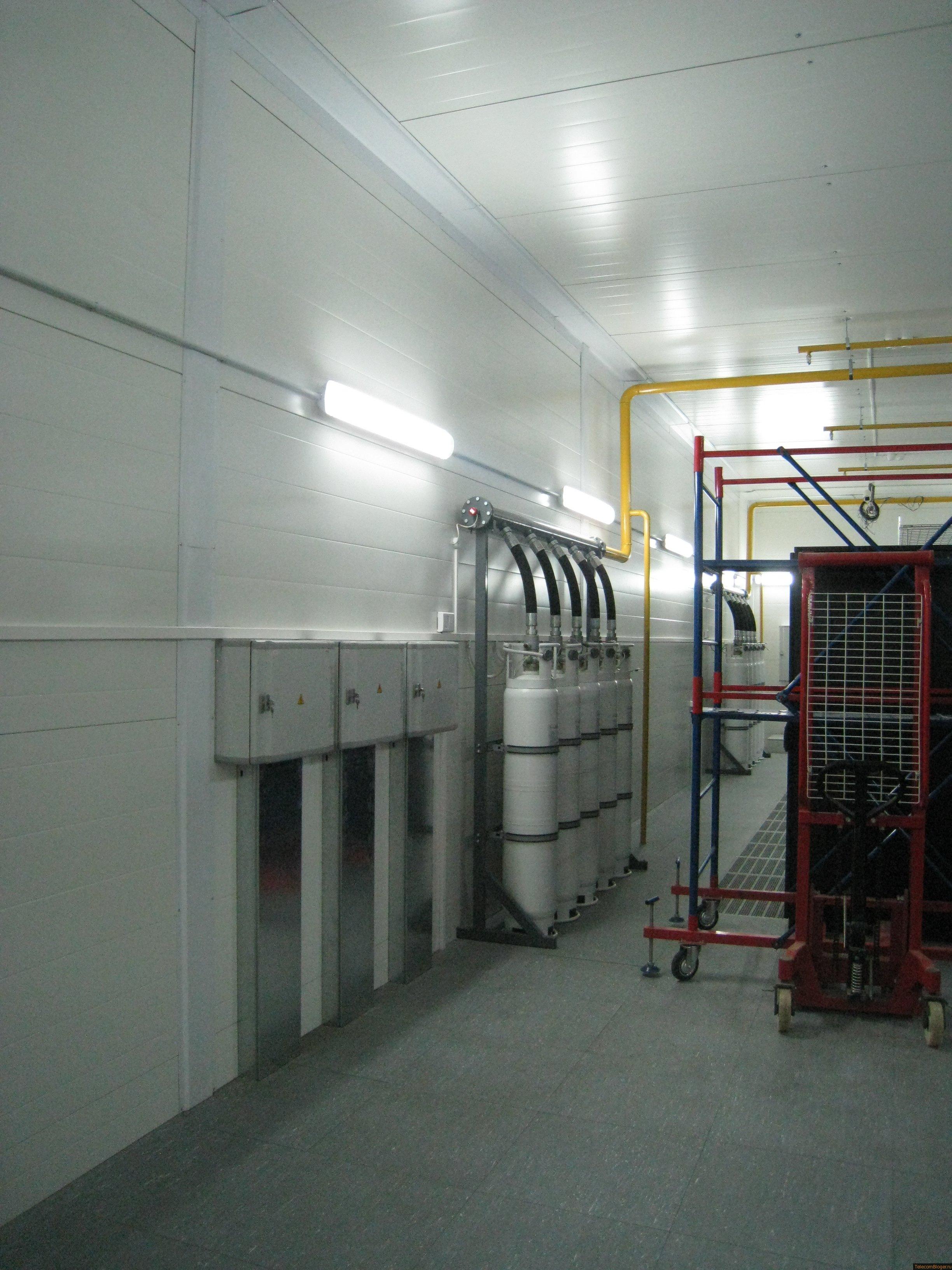 установки АУГПТ в Дата-Центре Селектел