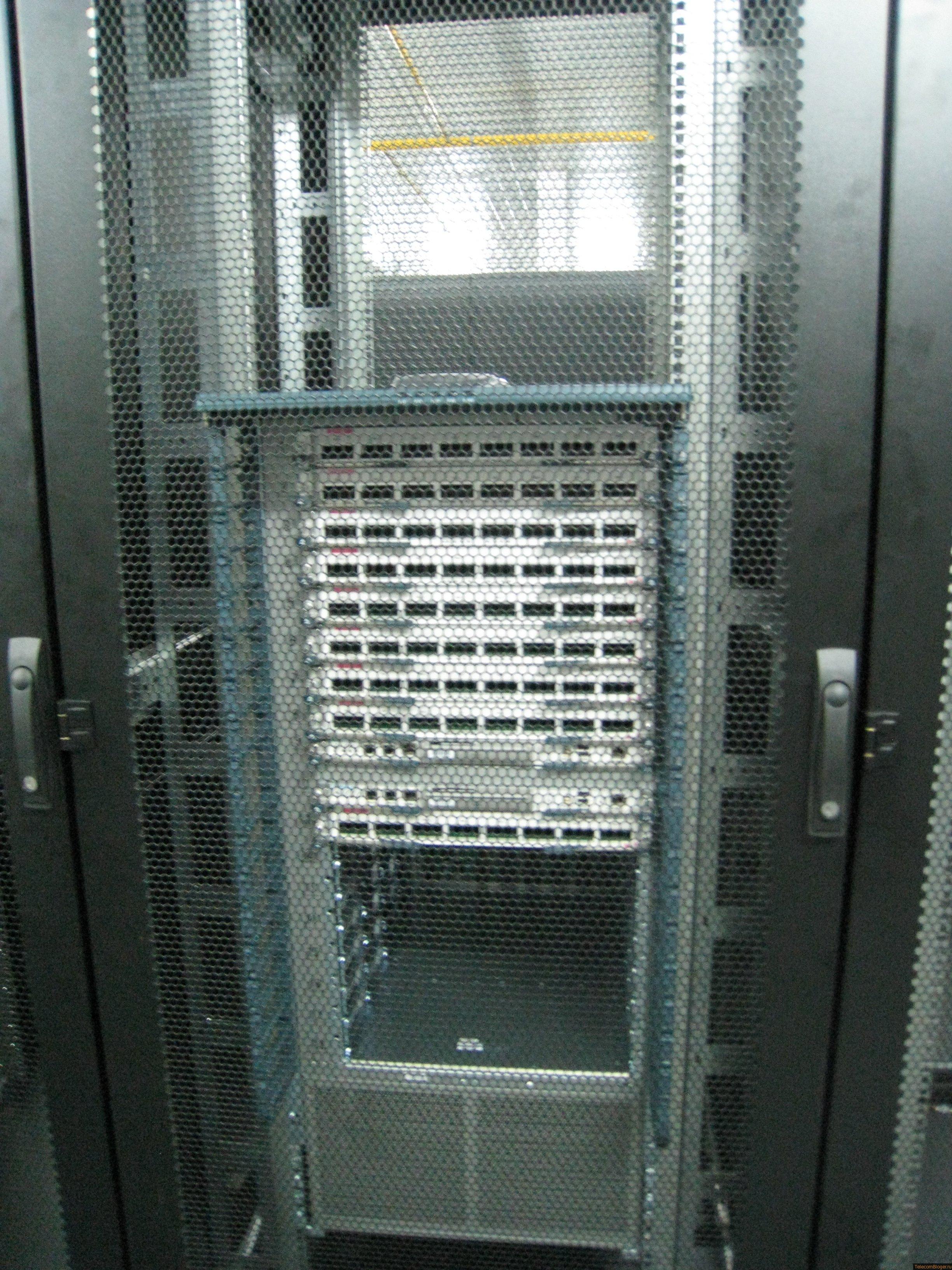 Коммутационное оборудование в ЦОД Селектел