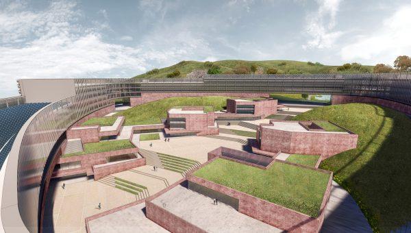 Фотоотчет: какой будет круглая серверная ферма Naver в Южной Корее