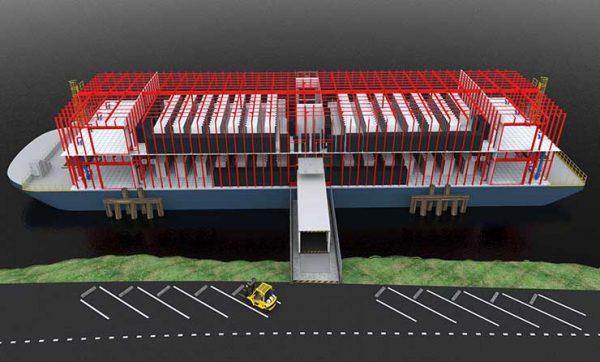 $100 млн. на строительство плавучего ЦОД предоставлено Nautilus Data Technologies