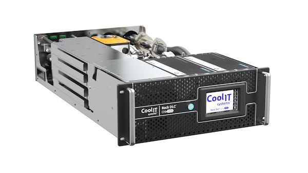 CoolIT Systems представляет компактную систему жидкостного охлаждения серверов Rack DLC CHx200 CDU